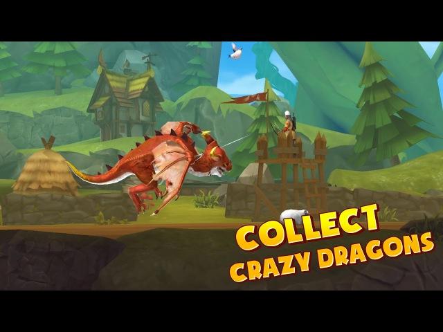 [Обновление] Hungry Dragon - Геймплей | Трейлер