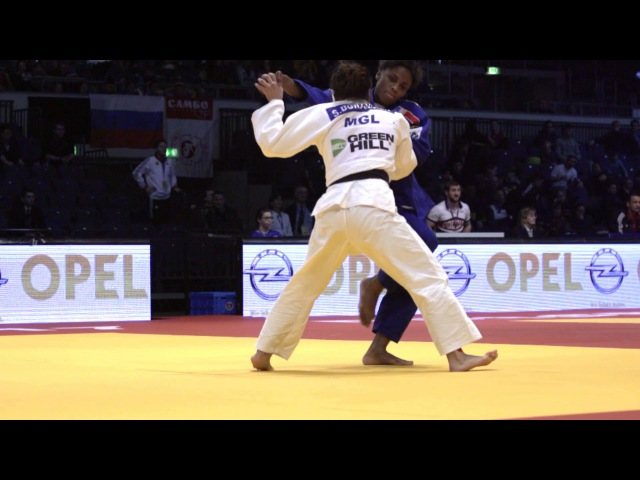101: Osoto-gaeshi - Dorjsuren (MGL) v Gneto (FRA) -57kg