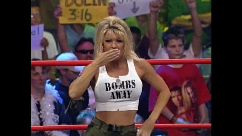WCW Nitro 07 24 00 Miss Hancock David Flair vs Major Gunns Chavo Guerrero