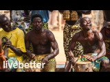 Современная африканская музыка расслабляющая холод из медленных мягких африка ...