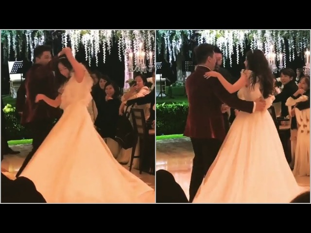 ♡ Full Wedding Party ♡ Taeyang happily holds Min Hyorins hands and dance in romantic song
