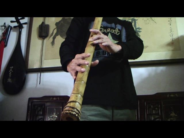 [松雲廬聞秋聲]_F bB三尺長管的低吟Listen to the sound of autumn_ Bass bamboo flute Solo