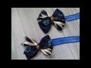 МК Повязка для девочки, бантик из репсовой лены/MK Bandage for the girl, ribbon from the rep
