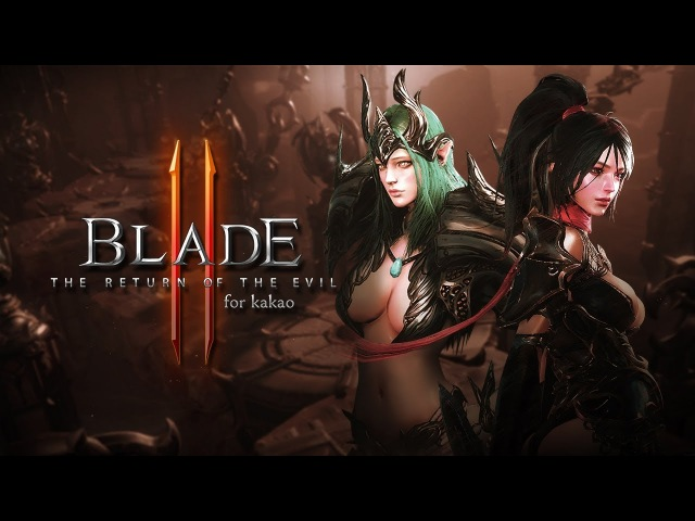 Blade II - Chapter 3 Gameplay - CBT - Mobile - F2P - KR