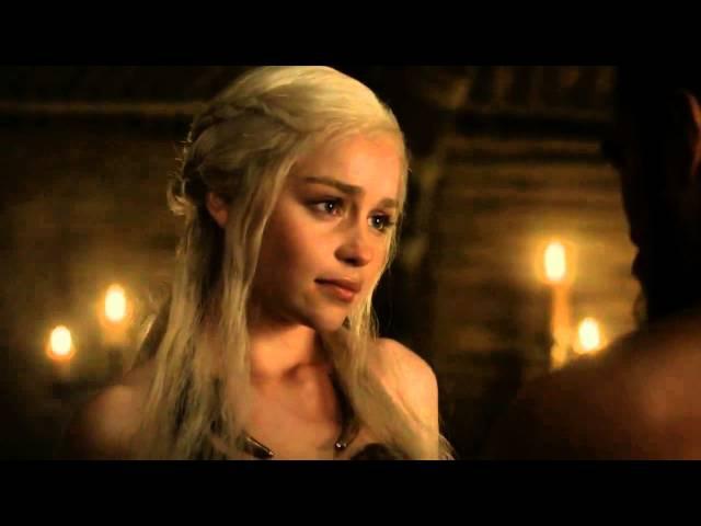Khal Drogo Swears - Game of Thrones 1x07 (HD)