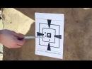 Стрельба на 130м Сайга 410 и Оптический прицел Leapers 3 9x40