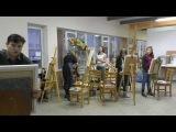 Мастер-класс по живописи с Дмитрием Ревякиным. Самовар с натуры.