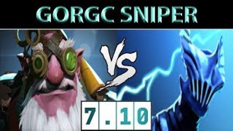 Gorgc Sniper vs Razor ► The Mid Counter ► Dota 2 7 10