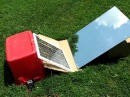 DIY Solar Panel with mirror HIGH AMPS video TEST 2 HEAT TEST,, FREE ENERGY