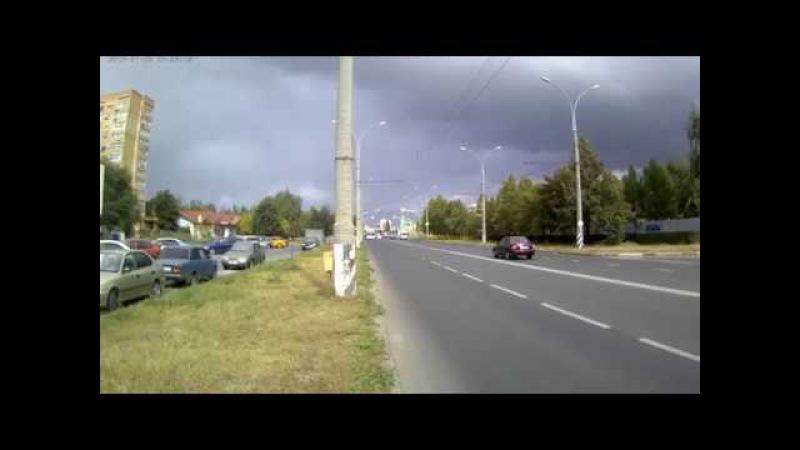Троллейбус № 2488 маршрут 14 ул. Революционная.