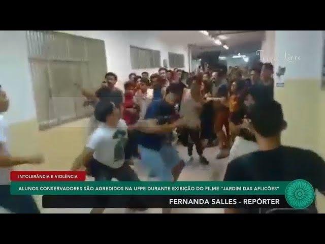 Bolso lee nocauteia militante esquerdista com golpe de direita Deal with it