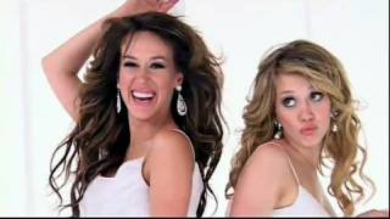 Hilary & Haylie Duff - Material Girl [Music Video]