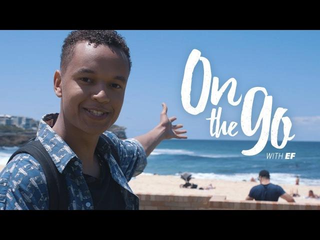 Нашел интересные видео с субтитрами Liam walks to Bondi Beach, Sydney