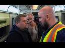 James Corden Sting Shaggy Attempt Subway Karaoke 60th GRAMMYs