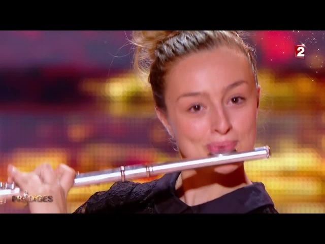 Fanny joue Badinerie Le vol du bourdon à la flûte traversière - Prodiges 2
