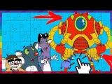 Rat-A-Tat.'Super Robot Adventures PUZZLE GAMES FOR KIDS