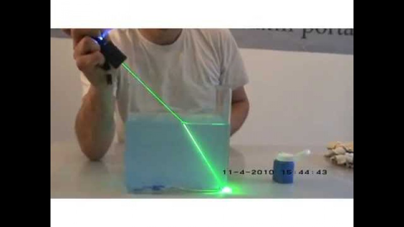Refraction - Science experiment