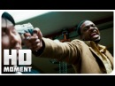 Монашка Картер и Ли допрашивают преступника Час пик 3 2007 Момент из фильма