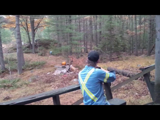 A little redneck fun with pumpkins · coub, коуб
