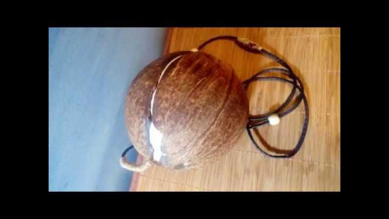 DIY Эко Сумка БАУНТИ из кокоса своими руками Клатч кокос DIY coconut bag