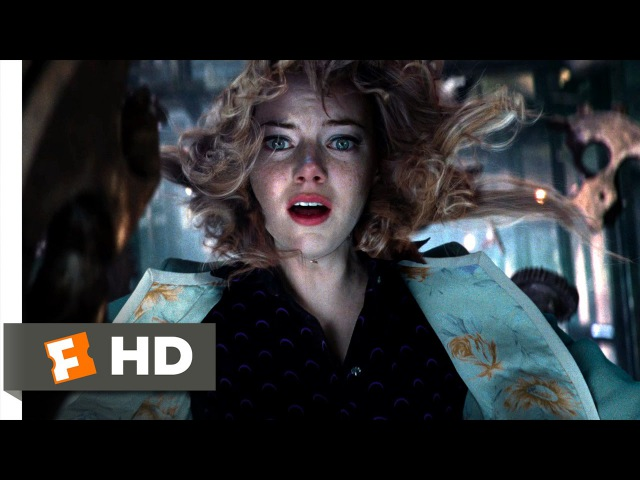 The Amazing Spider-Man 2 (2014) - Gwens Fall Scene (1010) | Movieclips
