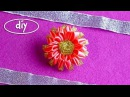 ЦВЕТОК КАНЗАШИ, МК / DIY KANZASHI FLOWERS