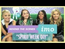 Behind The Scenes of IMO: Spirit Week DIY with Gracie Dzienny