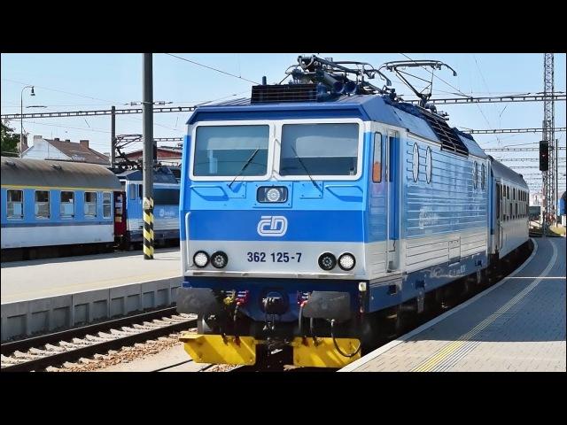 Vlaky České Budějovice ● 01.08.2017