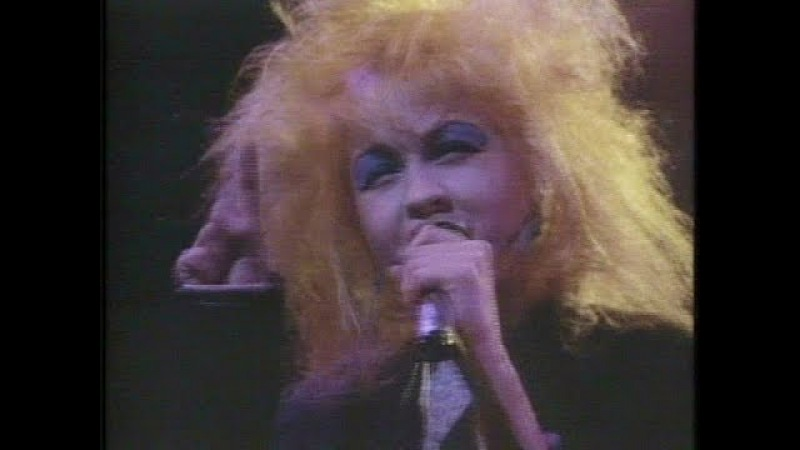 Cyndi Lauper The Goonies R Good Enough (Concert of 1987)