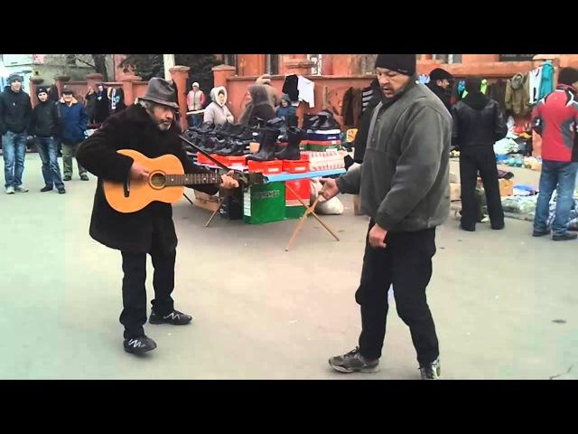 Homeless play dance ZZTop-She's Just Killing Me (Ukraine)