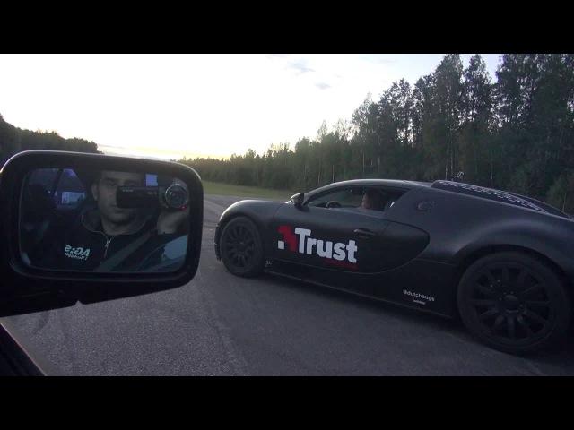 BMW view 900 RWHP M5 vs Bugatti Veyron 16.4