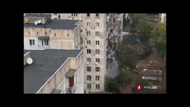 В Тбилиси уже почти сутки грузинский спецназ штурмует квартиру