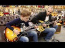 Toby Lee with Mark Agnesi playing a 1963 Gibson ES 335TD 1956 Gibson Les Paul TV Special