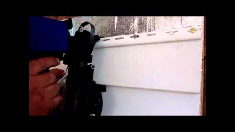 Pre-Set Technology with Vinyl Siding Pneumatic Delivery Sys