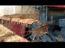 Как делают строительный материал из соломы в Китае