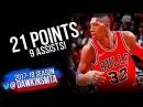 Kris Dunn Full Highlights 2018.3.7 Chicago Bulls vs Grizzlies - 21 Pts,9 Asts! | FreeDawkins