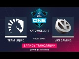 Liquid vs Vici Gaming, ESL One Katowice, game 1 [GodHunt, Maelstorm]