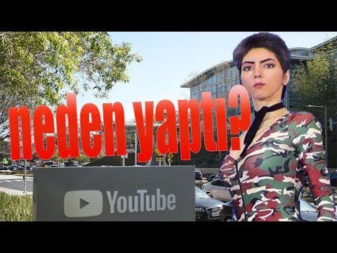 Youtube binasına saldırı düzenleyen azeri kadın