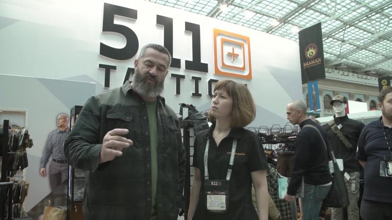 Мужские игрушки.StrikeForce и бренд 5.11 на ArmsHunting 2017.HD