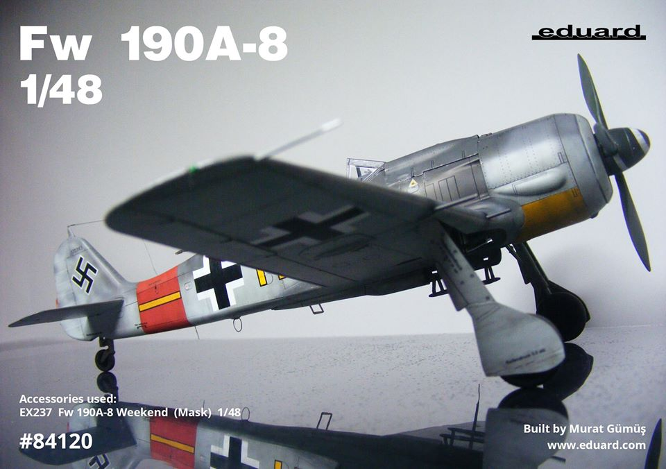 This Fw 190A-8 in 1/48 scale is another model from Murat Gümü?. Author used also our painting mask cat. no. EX237 for canopy painting & canopy painting u2013 toyland hobby modeling magazine