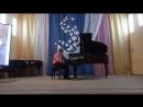 Лунная рапсодия Любимый мой Славчик играет на концерте к 8 марта