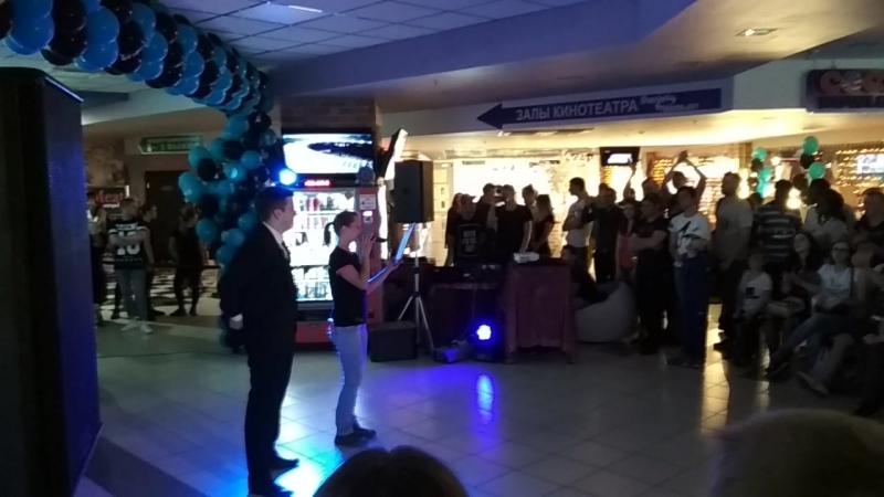 Вырезки с презентации фильма Мстители ТРК МегаГринн