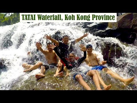 Tatai Waterfall at Koh Kong Province | Boat Ride at Tatai Community Based Ecotourism