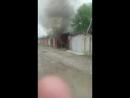 Житель Черкесска обгорел у гаражей