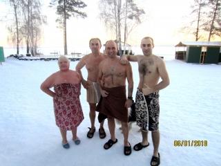 Снежинские моржи 2018 !!!