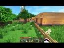 Ребенок ЕвгенБро Майнкрафт 2017 Выживание в деревне Minecraft для детей мультик игра и Дети