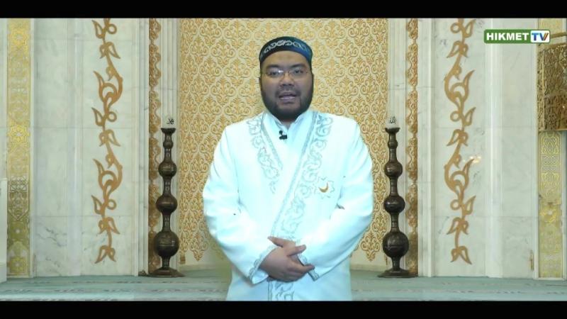 Хадис дня / Здороваться с детьми из деяний Пророка ﷺ / Максатбек Каиргалиев