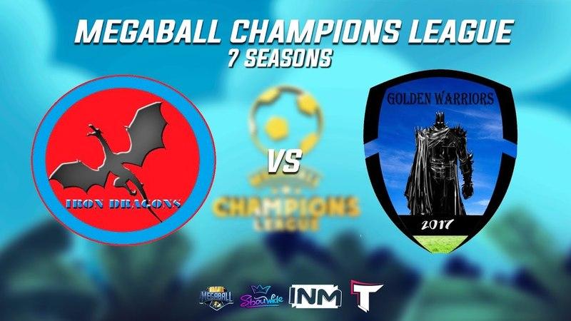 MCL 7. Квалификация. Iron Dragons vs Golden Warrioes (1 матч)