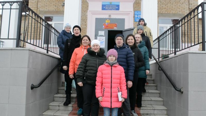Молодёжь Травниковского поселения на выборах 2018
