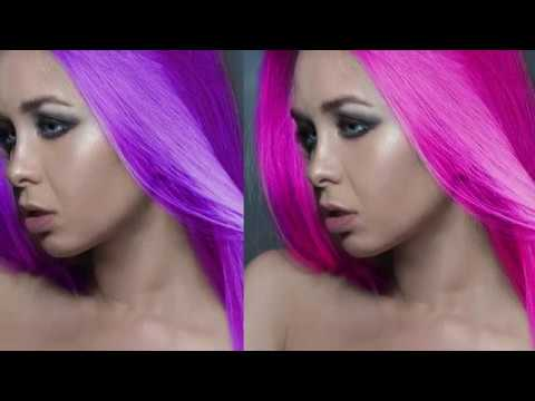 How to change hair colour in Photoshop fast